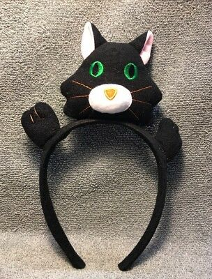 Halloween Cute Cat Toddler Headband