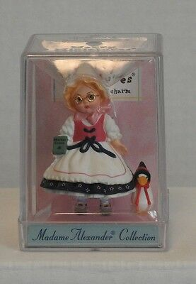 Madame Alexander Hallmark Merry Miniatures Mother Goose  - With Goose  Doll