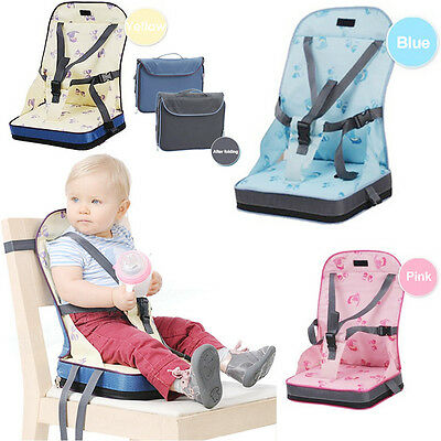 Portable Baby Travel Chair Child Kids Dining Feeding Chair Foldable Booster Seat