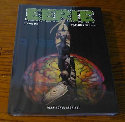 Eerie Archives Volume 2, DAMAGED, Warren, Dark Horse, hardcover Frank Frazetta +