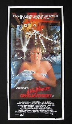 A NIGHTMARE ON ELM STREET '84 Australian daybill movie poster Wes Craven horror