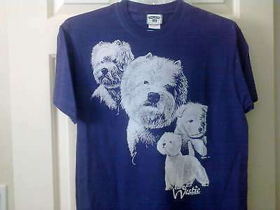 West Highland White Terrier Westie Dog Tee Shirt Clearance