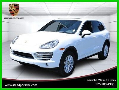 2013 Porsche Cayenne Diesel 2013 Diesel Used Turbo 3L V6 24V Automatic AWD SUV Moonroof Bose