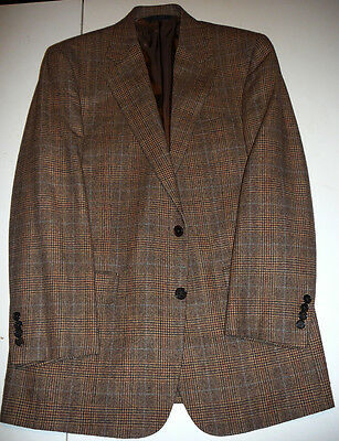 1818 Madison - BROOKS BROTHERS - Brown Cashmere Blend Sport Coat - 40 R