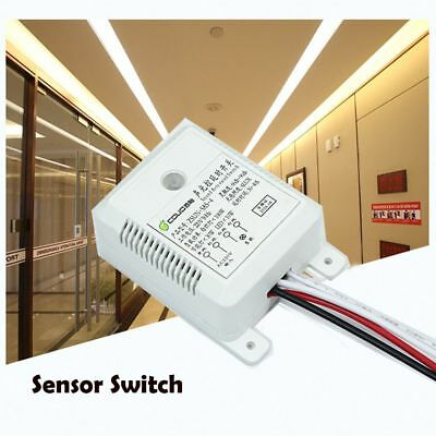 220V Intelligent  On Off Voice Sound Light Sensor Control Delay Lamp Switch