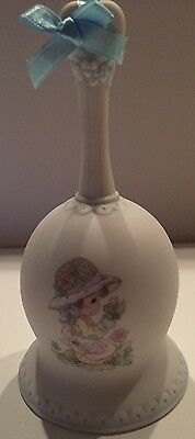 """Precious Moments """"Friendship Takes Time to Grow"""" Porcelin Bell ENESCO"""