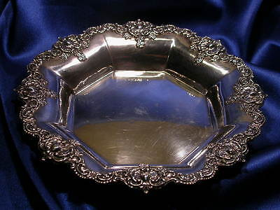 Alvin Sterling Candy Dish: Excellent Estate Condition