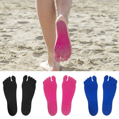 Sticker Shoes Stick on Soles Sticky Pads for Feet Beach Waterproof Adhesive Pad