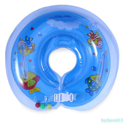 Infant Baby Toolder Swimming Ring Neck Float Ring Inflatable Tube Safety CY6