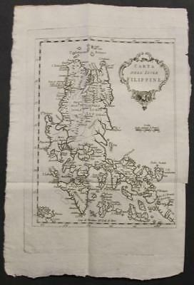 Northern Philippines 1781 Bellin Unusual Antique Engraved Map Italian Edition
