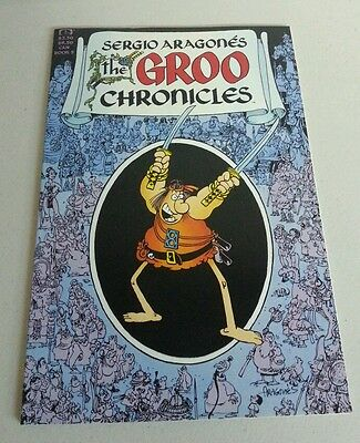 The Groo Chronicles #5 unread nm- bagged and boarded