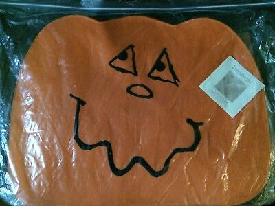 Longaberger Pumpkin Halloween Placemats