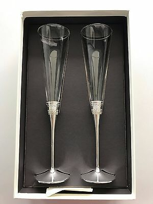 Vera Wang Wedgwood With Love Toasting Flutes Pair