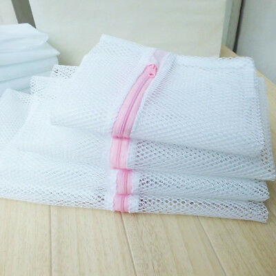 Newly Laundry Bags Washing Machine Bra Socks Delicate Mesh Clothes Container 4PC