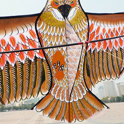 Large-golden eagle kite with handle line  games bird kite weifang chinese kiteH*