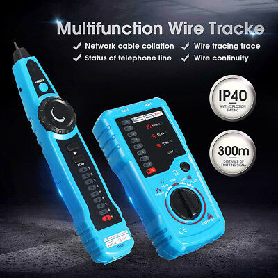 Cable Tester Wire Tracker Network Telephone Line Tracer Toner LAN Phone RJ11 AU