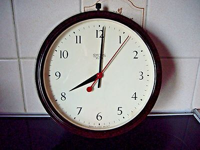 Vintage Smiths Sectric Bakelite Electric Wall Clock