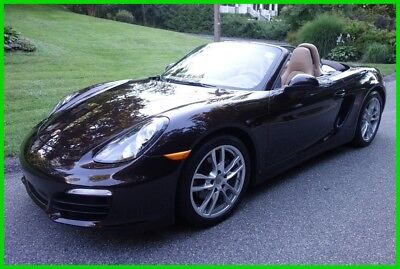 2015 Porsche Boxster Base Convertible 2-Door 2015 Used Certified 2.7L H6 24V RWD Convertible Premium