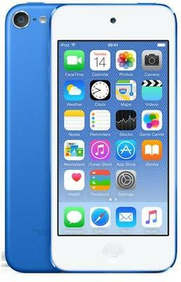 Apple iPod Touch 6th Generation 16GB Blue Grade B+ 2015 iPod Touch Brown Boxed
