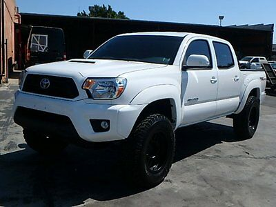 2015 Toyota Tacoma 4WD Double Cab V6 2015 Toyota Tacoma Double Cab 4WD Damaged Salvage Perfect Project Priced to Sell