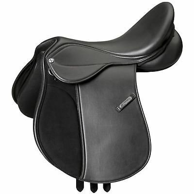 "Eric Thomas ""Advance"" All Purpose Jumping Saddle and Cover Black"