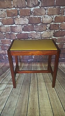 Antique Retro Vintage Wooden Piano Seat Stool Bedroom Dining Kitchen Study Offic