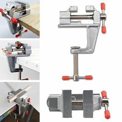 "3.5"" Aluminum Mini Small Jewelers Hobby Clamp On Table Bench Vise Tool Vice New"