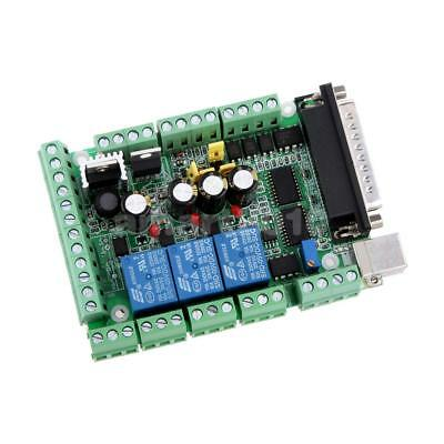 4 Axis Mach3 CNC Stepper Motor Driver Adapter Breakout Board with USB Cable