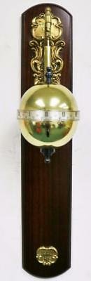 Vintage Thwaites & Reed 8 Day Mystery Falling Ball Gravity Globe Wall Clock