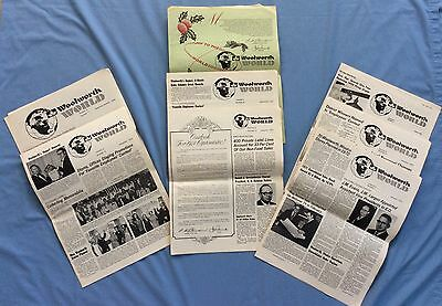 Vintage Newsletters  Woolworth's Collectibles