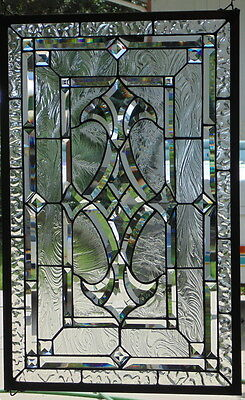 Stained Glass window hanging 30 1/2 X 19 1/4""