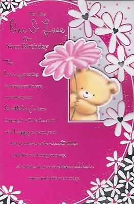 Happy birthday card special wife 8 page insert verse greeting happy birthday one i love special card wife girlfriend 8 page verse insert bookmarktalkfo Image collections