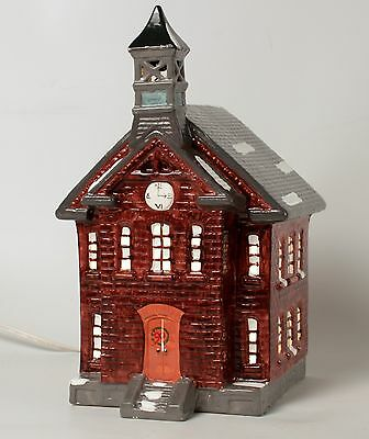 Department 56 Red Schoolhouse Snowhouse Series 1985