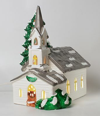 Department 56 Countryside Church Snowhouse Series 1984