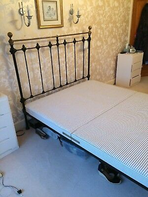 Cast Iron Antique Bed Frame King Size