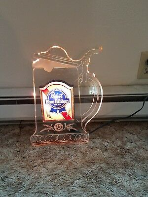 1984 Pabst Blue Ribbon BEER decoritive light