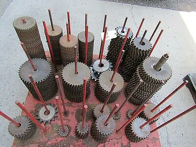 New Sprockets Roller Chain from 40 chain to 200 Chain industrial surplus lot