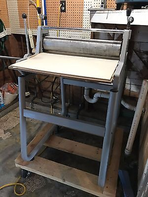 Professional Master Etch Model II Press & Bench & Rollers EXCEL SHAPE Dick Blick