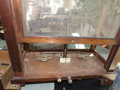 Antique H. Kohlbusch Apothecary Pharmacy Balance Arm Scale For Restoration Parts