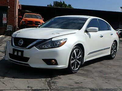 2016 Nissan Altima 2.5 SR 2016 Nissan Altima 2.5 SR Sedan Wrecked Repairable Priced to Sell Export Welcome