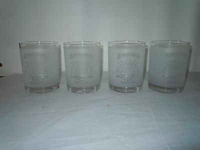 4 Seagrams Mixer Highball Glasses