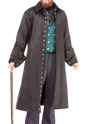 Vampire Coat, Steampunk, Cosplay, S, M, L, XL, Roleplay, Whitewolf, Bell Cuffs