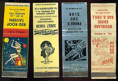 "1940's ""Girlie"" Show Bar Matchcovers"