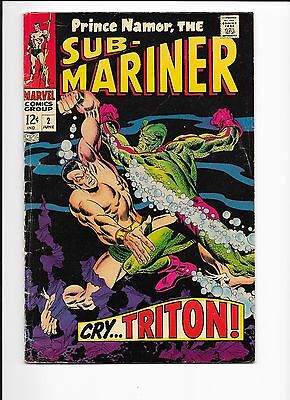 Marvel Comics Sub-Mariner #2 Cry ....Triton