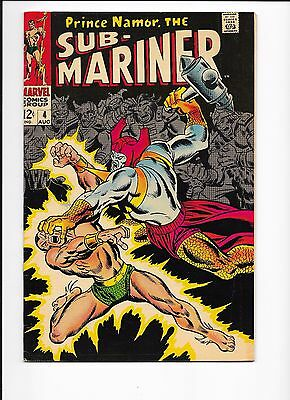 Marvel Comics Sub-Mariner #4 Who Strikes For Atlantis