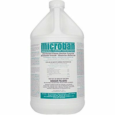 Microban - GCC - Germicidal Cleaner Concentrate - formerly QGC Quaternary - - -