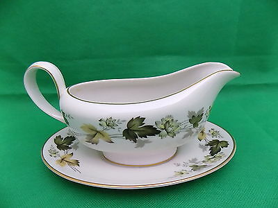 Royal Doulton Larchmont Gravy Boat with Stand