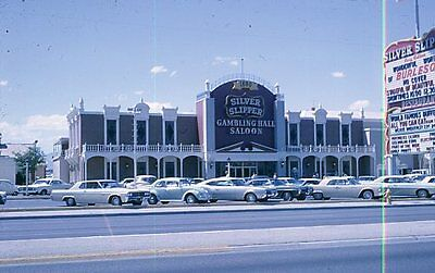 Silver Slipper Hotel Las Vegas Nevada 1968 Original Slide