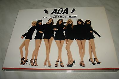 Hip Hop Rare Aoa Ace Of Angel Best Songs For Asia Pressage Taiwan 2014 Dc + Dvd