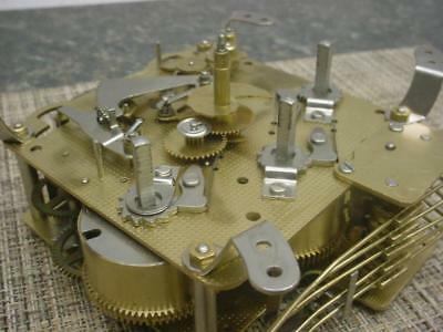 "Franz Hermle Clock  ""82"" Brass Movement 340-020  2J Parts or Repair D562b"